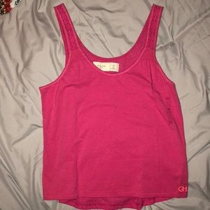 Gilly Hicks Pink Tank Top, Size XS
